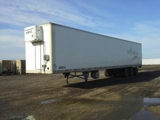 2008 Utility 53' Triaxle Van Trailer c/w Heat, Air Ride Susp., 11R22.5 Tires. S/N 1UYVS35388G456420