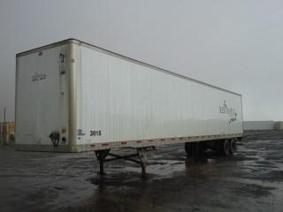 2007 Utility 53' T/A Van Trailer c/w Air Ride Susp., 11R22.5 Tires. S/N 1UYVS25367P936822.