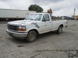 1993 Ford F150XL P/U c/w 5.0L V8, Auto. Showing 169716 Kms. S/N 1FTEF15N9PLA84648