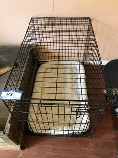 Dog Kennel c/w Whelping Box