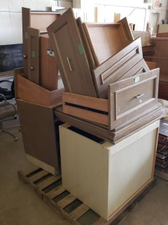 Qty Of 2-Drawer Cabinets C/w Drawers