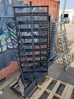 Qty Of (5) Display Racks