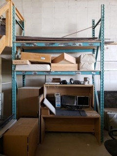 Pallet Racking *Note: Contents Not Included, Buyer Responsible For Load Out*