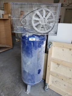 Campbell Hausfeld 230V Single Phase 60 Gallon Air Compressor. SN L6/1072013-00036 *Note: Requires Repair*