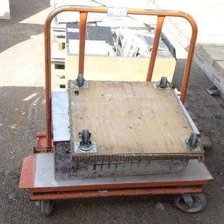 Metal Cart C/w Storage Box And Dolly Platform