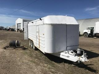 Selling Off-Site  1994 Real Industries 20' Triaxle Utility Trailer S/N 2R9B8LB20R1020487. Located in Taber, AB Call Tim 403-968-9430 For Further Information.