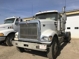 Selling Off-Site 2006 International 9900i 6x4 T/A Day Cab Truck Tractor c/w Cummins X15, Eaton Fuller 13 Spd, Chelsea PTO, 11R24.5 Tires. Requires Repair Location: 339 Aquaduct Dr., Brooks, AB Call Tim For Further Information 403-968-9430. S/N 2HSCHAPR76C304905.