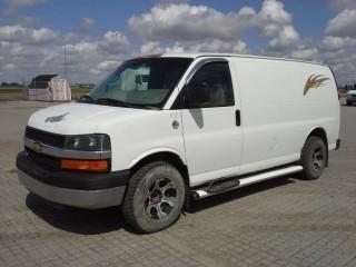 2008 Chev Cargo Van S/N 1GCGG25K081137655