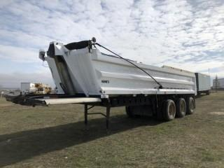 Arnes Triaxle End Dump Trailer. Alberta Assigned VIN 57086.
