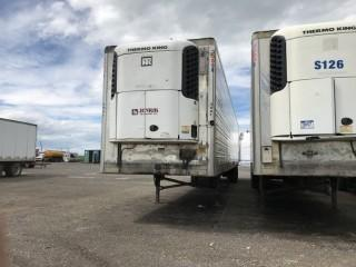 2007 Utility 53' T/A Van Trailer c/w Air Ride Susp., Thermo King Whisper Reefer. S/N 1UYVS25327J196803.