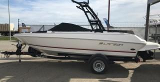 New 2016 Larson 205 LXI VEC Bowrider Sport Boat S/N IJL96938L516. Keys in Office.
