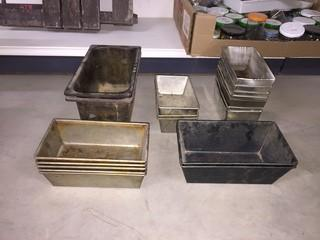 Lot of Assorted Antique Bread Pans.