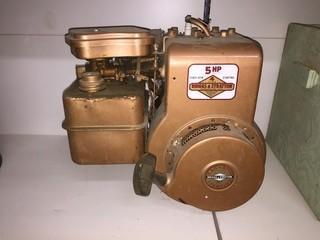Briggs & Stratton 5 Hp Gasoline Engine, 4 Cycle.