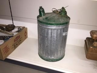 Antique Gas Can.