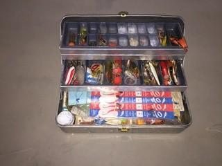 Metal Tackle Box.
