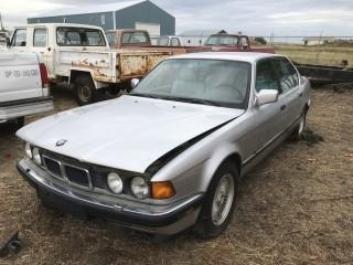 1991 BMW c/w V12, Auto. Not Running S/N WBAGC8313MDC80018.