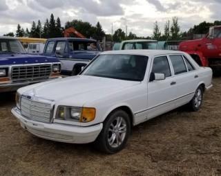 1982 Mercedes Benz 500 SEL 4 Door Sedan Out of Province. S/N WDB12603712025612.