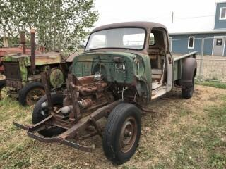 Chev Model 9434 Cab Not Running For Parts. S/N 4943405910.