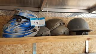 Lot Welding Shield and Hard Hat