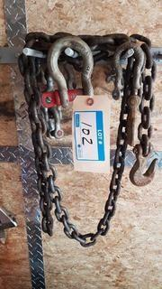 Lot High Strength Chain and U-shape Connectors
