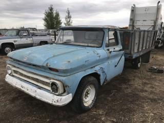 1964 Chev 30 P/U 6 Cyl, 4 Spd, Tilt Box. S/N 4C3803602902B.