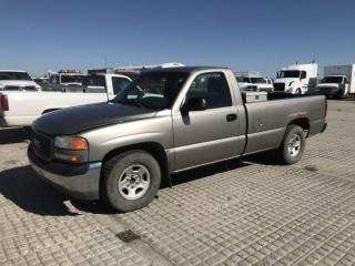 2002 GMC Sierra 1500 P/U c/w V8, Auto, A/C. Showing 178,643 Kms. S/N 1GTEC14W02Z313422.