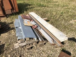 Qty Of Angle Iron And Misc Steel