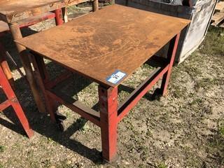 Portable Metal Table