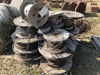Qty Of Assorted Size Steel Cable