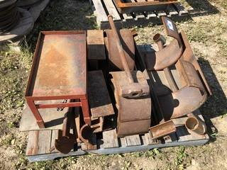 Qty Of Assorted Size Pieces Of Steel