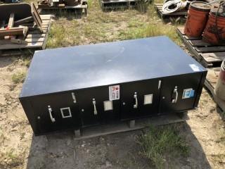 4-Drawer Metal Filing Cabinet