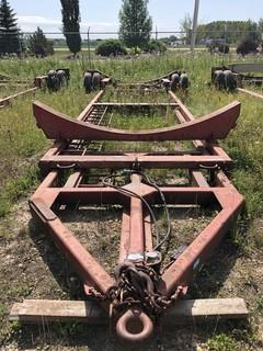 Scona 400BBL S/A Tank Cradle. SN T97TC3855