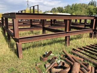 (1) Steel Tank Base *Note: Buyer Responsible For Load Out*