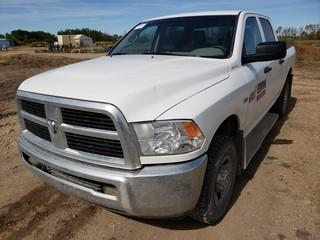 2012 Dodge Ram 2500 Heavy Duty 4X4 Crew Cab Pick Up C/w 5.7L Hemi, A/T. Showing 225,580Kms. Unit 329. VIN 3C6TD5CT4CG270408