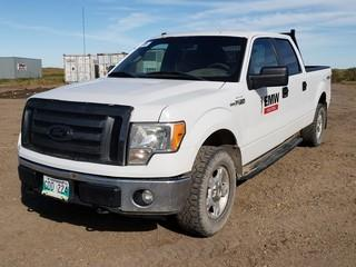 2011 Ford F150 XLT 4X4 Crew Cab Pick Up C/w 5.0L, A/T. Unit 006. Showing 310,862Kms.VIN 1FTFW1EF5BFB67224