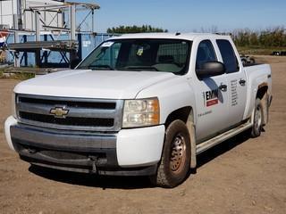 2008 Chevrolet Silverado Crew Cab Pick Up C/w 5.0L, A/T. Unit 076. Showing 246,813Kms. VIN 2GCEK13C681309208
