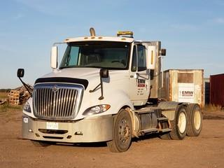 2009 International Pro-Star Eagle Tandem Axle Truck Tractor C/w Cummins ISX 435 HP Diesel. VIN 2HSCUAPR29C091877