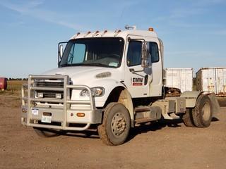 2007 Freightliner S/A Truck Tractor C/w Mercedes 6-Cyl Diesel. VIN 1FUBCYDJ97HY06747
