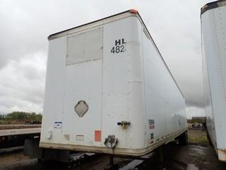 1998 Great Dane T/A 48ft Van Trailer C/w Air Susp. VIN 1GRAA9624WB029101