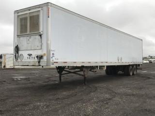 2002 Utility 53' T/A Van Trailer c/w Air Ride Susp., 295/75/22.5 Tires. S/N 1UYVS25362U738607