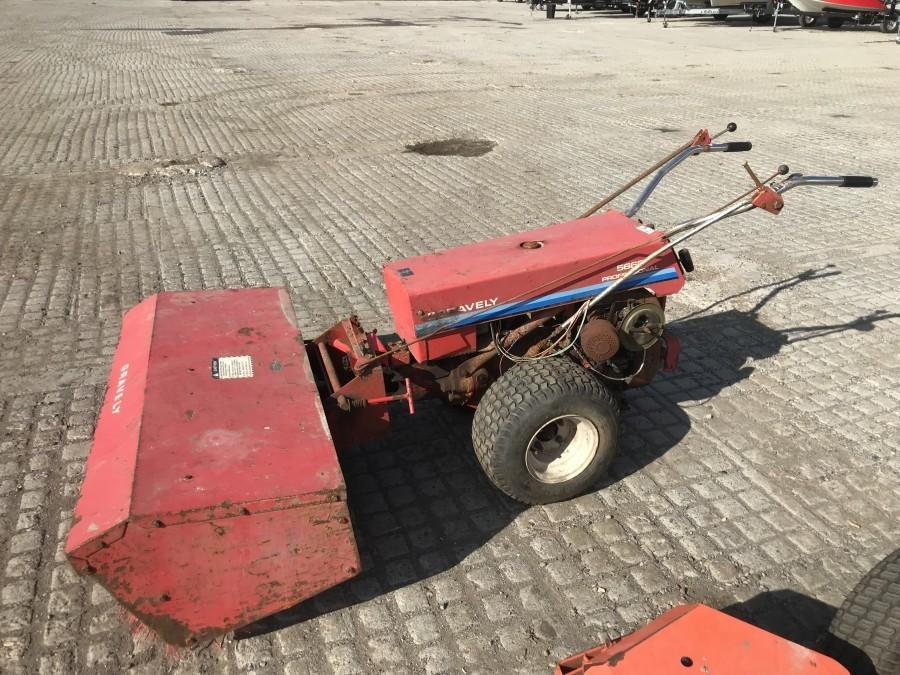 """Gravely 5665 Professional Gas Powered 56"""" Walk Behind Power Sweeper *Requires Repair*"""