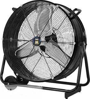 "Coolworks 24"" Tilting 3 Speed Drum Fan"