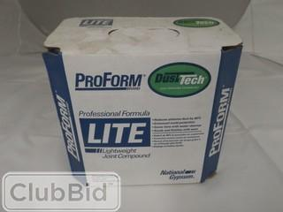 Lot of Proform Professional Joint Compound & Lightweight Joint Compound