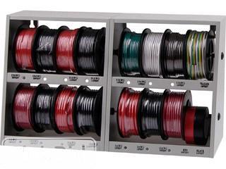 Powerfist 17pc Wall Mountable Wire Storage Case