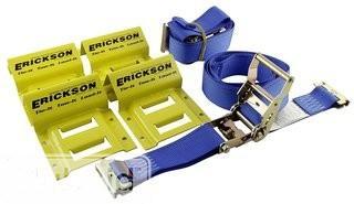 Wheel Chock & Strap Kit