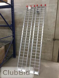 New 7' Aluminum Ramp 2 Pcs