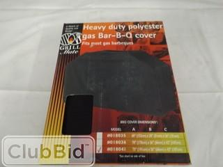 """Grillmate Heavy Duty Polyester Gas BBQ Cover 75"""" x 26"""" x 42"""""""