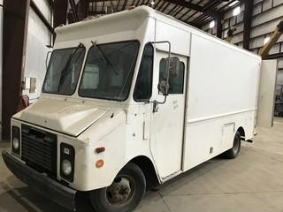 Step Up Tool Van. Yard Use, No Serial Number.