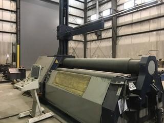 2013 Faccin Model 3139 Plate Bending Machine (Roller) SN 13044490-4458.