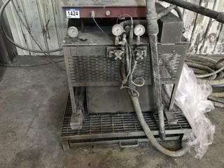 2005 GlasCraft 228 SO-0ZF Spray Foam Machine SN 70512127.